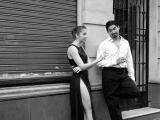 Volkenkunde Zwart Wit Buenos Aires Collectie Tangodansers top